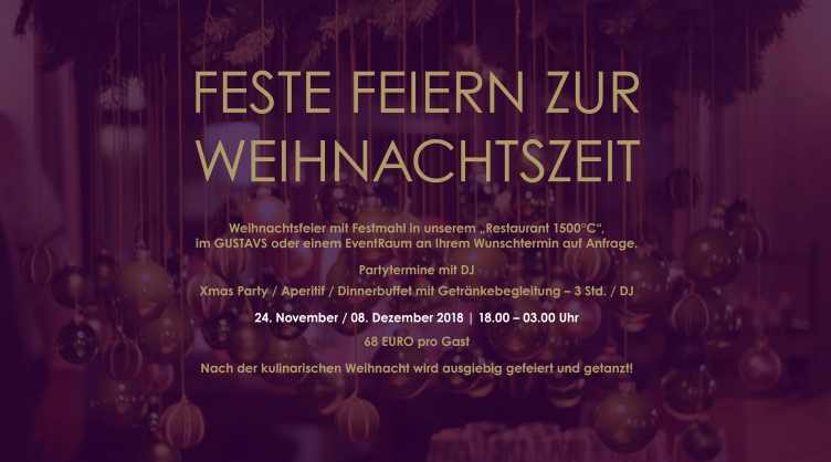 Xmas-Party im Hotel Altes Stahlwerk