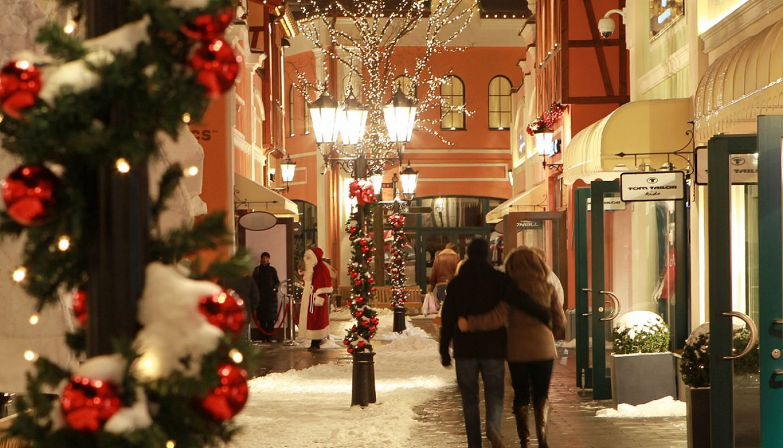 Christmas-Shopping Arrangment